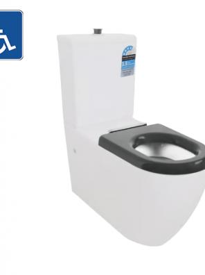 Toilet Asta Care Rimless Toilet Suite AS800