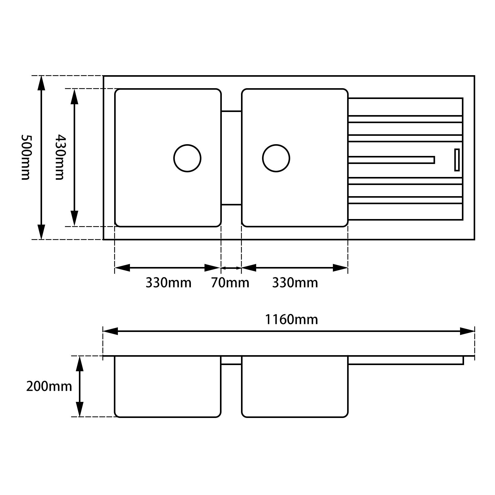 Kitchen Sink BKSD1150