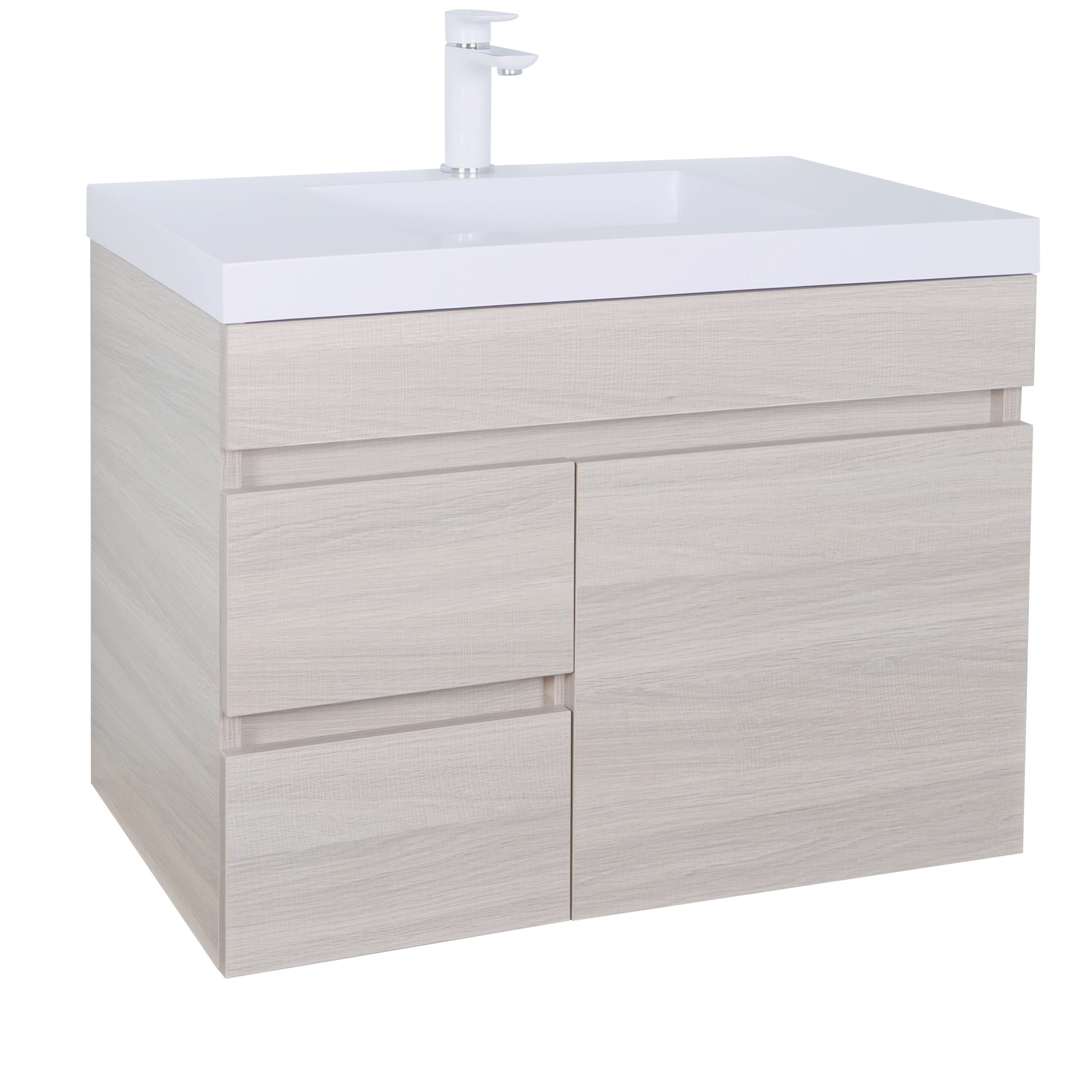 Evie Color Vanity EV74LWH-OAK