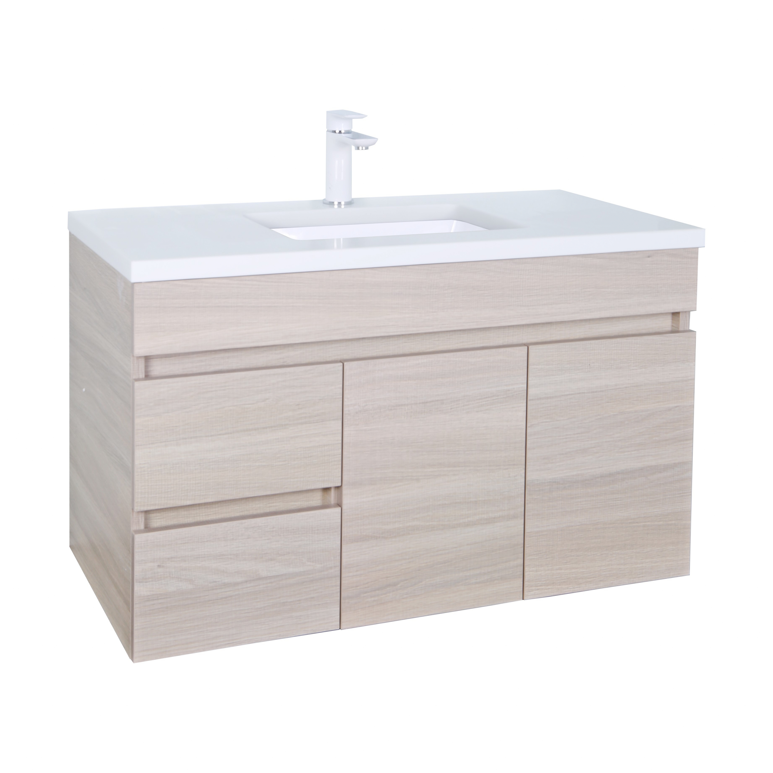 Evie Color Vanity EV94LWH-OAK