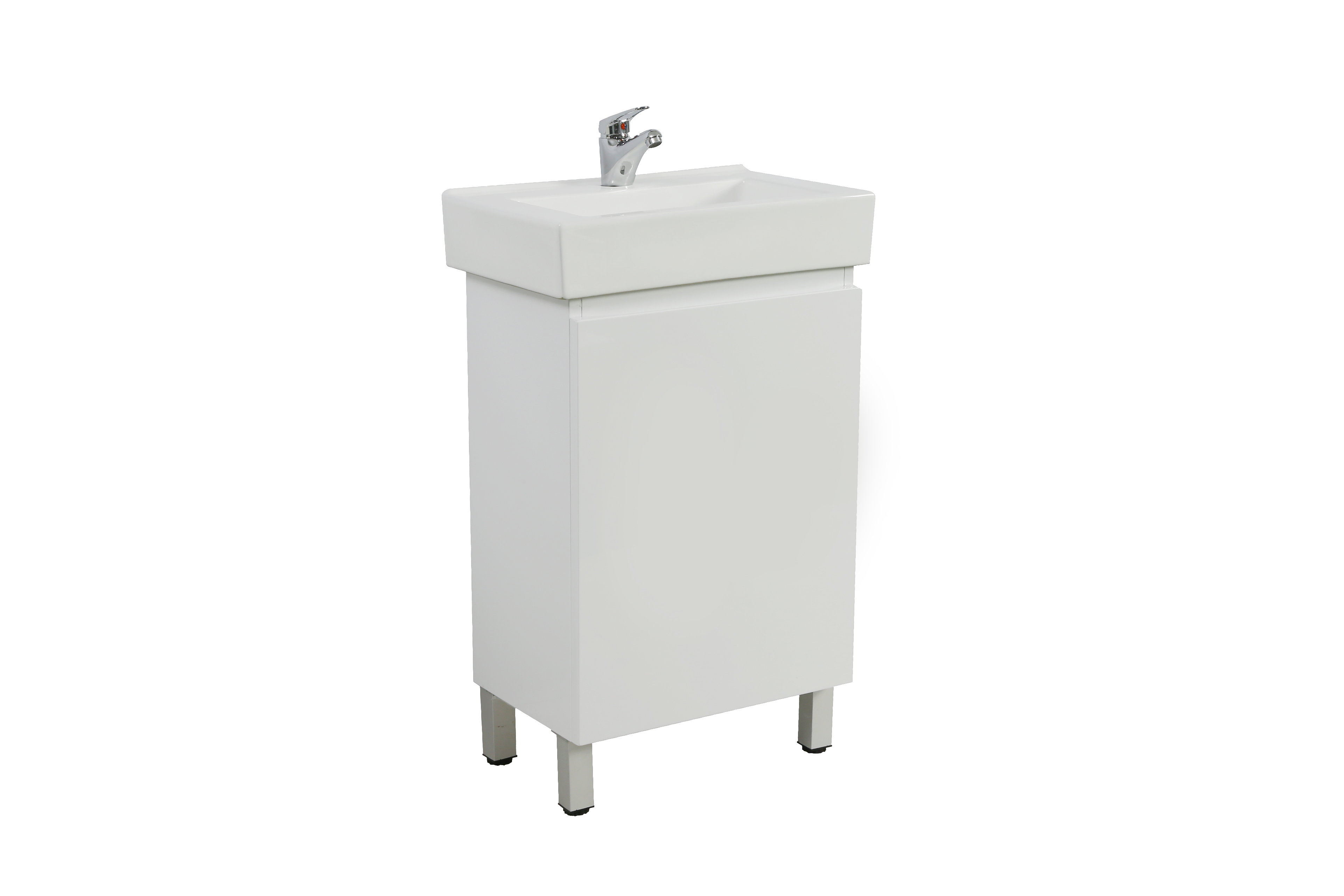 White High gloss painting MDF Vanity Gloss White M53LG