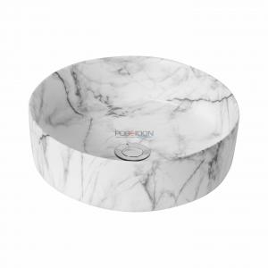 Fine ceramic basin
