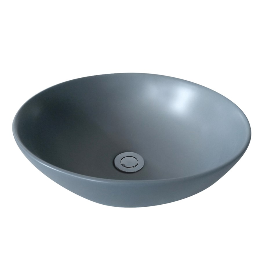 Matte Grey PA4040MG Fine Ceramic Basin