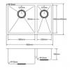 Kitchen Sink PKS660D-Line-100x100