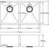 Kitchen Sink PKS775D-100x100