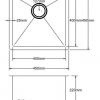 Kitchen Sink PKSS-450Line-100x100