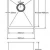 Kitchen Sink PKSS400-Line-100x100