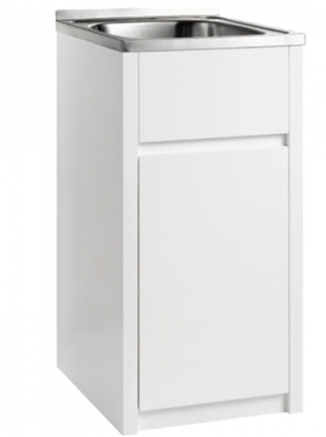 30 Litre Stainless Laundry with PVC cabinet PPLT455