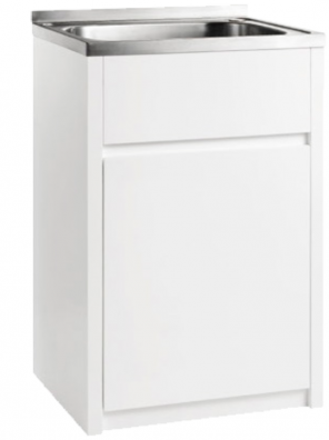 45 Litre Stainless Laundry with PVC cabinet PPLT600