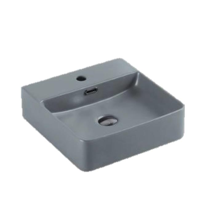 Matte Grey Fine Ceramic Basin PW4242MG
