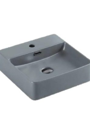 Matte Grey Fine Ceramic Basin PW4242MG