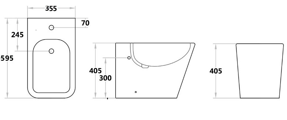Toilet QB203BD-L-1