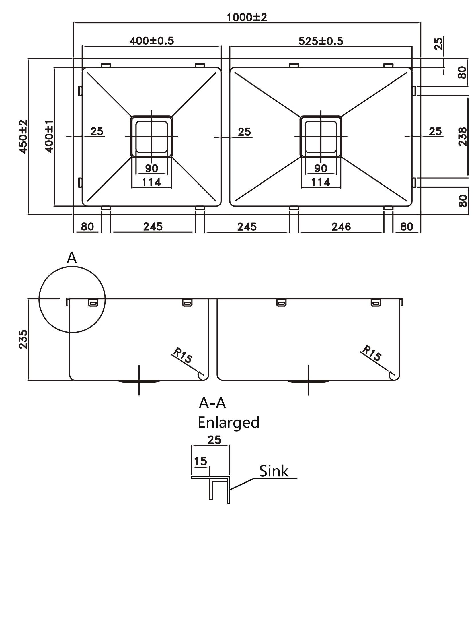 Kitchen Sink pks-1000sline